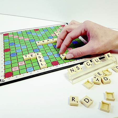 Scrabble Spiel Ergotherapie